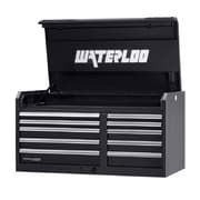 Waterloo Industries Professional HD Series 46''W 10-Drawer Top Chest; Black