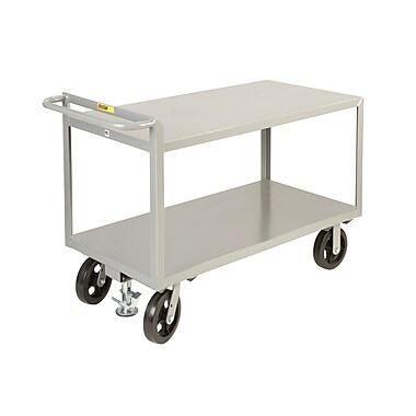 Little Giant USA 24'' x 53.5'' Merchandise Collector Steel Utility Cart