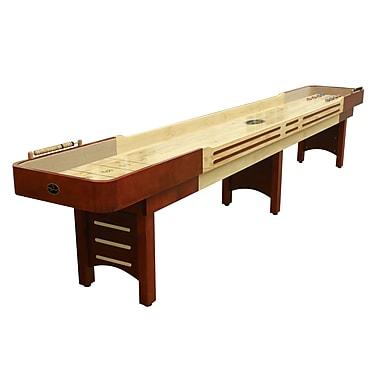 Playcraft Playcraft Coventry Cherry Shuffleboard Table; 25'' H x 168'' W x 31'' D