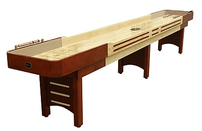 Playcraft Playcraft Coventry Cherry Shuffleboard Table; 25'' H x 168'' W x 31'' D