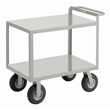 Little Giant USA 30'' x 53.5'' Cushion-Load Merchandise Collector Utility Cart