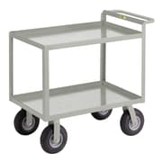 Little Giant USA 24'' x 41.5'' Cushion-Load Merchandise Collector Utility Cart