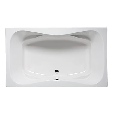 Americh Rampart II 60'' x 42'' Drop in Soaking Bathtub; Biscuit