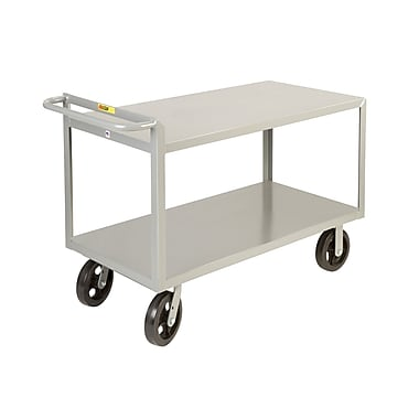 Little Giant USA 24'' x 53.5'' Merchandise Collector Steel Utility Cart