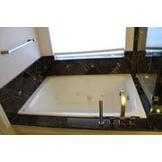 American Acrylic 60'' x 42'' Soaker Rectangular Bathtub; White