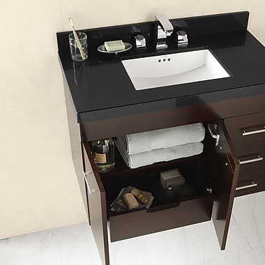 Ronbow TechStone? 43'' Single Bathroom Vanity Top; Single Hole