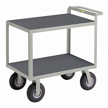 Little Giant USA 24'' x 53.5'' Utility Cart w/ Hand Guard w/ Non-Slip Vinyl Matting