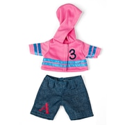 "Miniland Educational Jeans Set (8 1/4""), Blue and Pink (31693)"