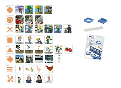 Miniland Educational Visual Displays. Sequences #2, Blue and White (31931)