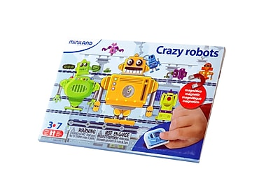 Miniland Educational Crazy Robots, Multicolor (31961)