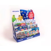 Miniland Educational On The Go Display - 18 Units, Multicolored (31970)