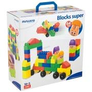 Miniland Educational Super Blocks 64 Pieces , Multicolor (32337)