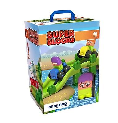 Miniland Educational Super Blocks - Jumpy, Multicolor (32346)