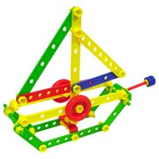 Miniland Educational Mecaniko 191 Pieces/Container, Multicolor (32650)