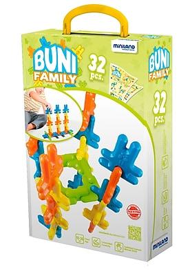 Miniland Educational Buni (32 pieces), Multicolor (45225)