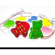 Miniland Educational Animal Lacing, Multicolor (45304)