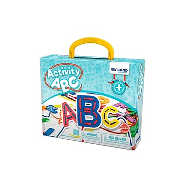 Miniland Educational Activity ABC, , Multicolor (45306)