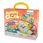 Miniland Educational Activity Clock, Multicolor (45311)