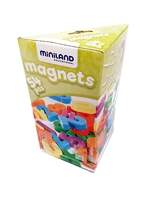Miniland Educational Magnetic Numbers (54 pieces), Multicolor (45314)