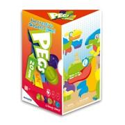 "Miniland Educational Pegs 3/4"" 90 Pegs - 6 Worksheets, Multicolor (45318)"