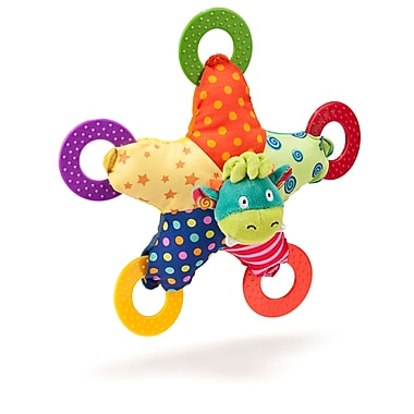 Miniland Educational Moogy Teether, Multicolor (96293)