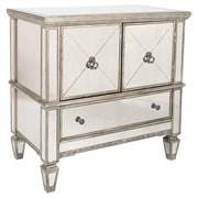 Butler Celeste 3 Drawer Console Cabinet; Silver