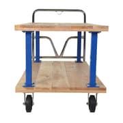 Vestil Double Deck Platform Utility Cart
