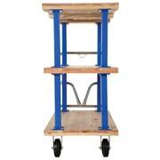 Vestil Triple Deck Platform Utility Cart