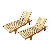 D-Art Collection Chaise Lounge (Set of 2)