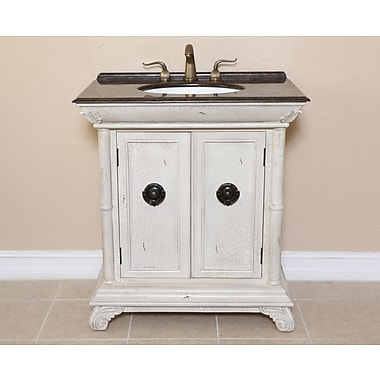 B&I Direct Imports Lily 32'' Single Bathroom Vanity Set