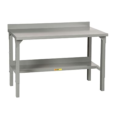 Little Giant USA Welded Stationary Adjustable Height Steel Top Workbench; 48'' W x 28'' D
