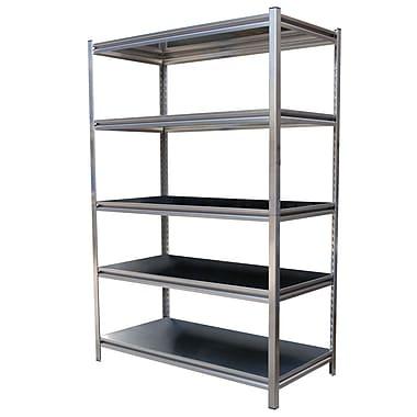 Vestil 72'' H Four Shelf Shelving Unit; 72'' H x 48'' W x 24'' D