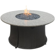 Endless Summer Stainless Steel Propane Fire Pit Table