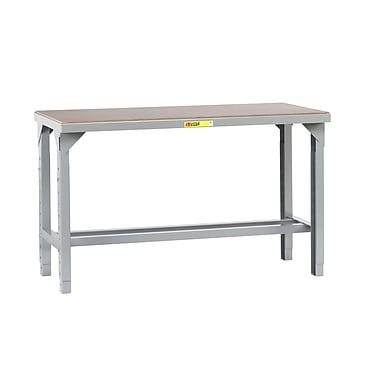 Little Giant USA Welded Adjustable Height Steel Top Workbench; 41'' H x 48'' W x 30'' D