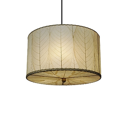 Eangee Home Design Drum Small Natural Pendant -Natural (497 Sn)