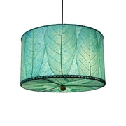 Eangee Home Design Drum Small Sea Blue Pendant -Blue (497 Ssb)