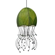 Eangee Home Design Jellyfish Hanging Green Pendant -Green (525 G)