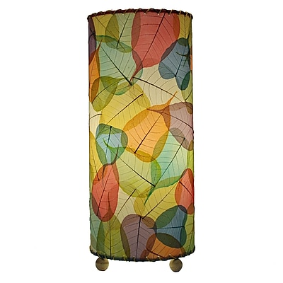 Eangee Home Design Banyan Leaf Table Lamp -Multicolored (483-T-M)