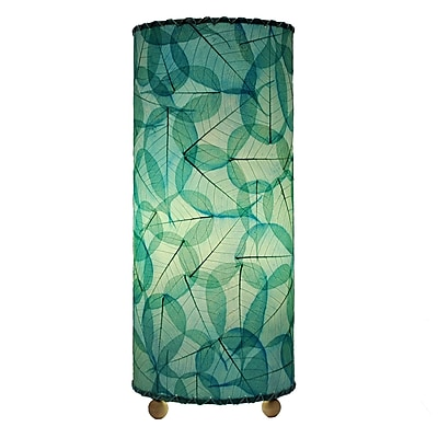 Eangee Home Design Banyan Leaf Table Lamp -Blue (483-T-Sb)