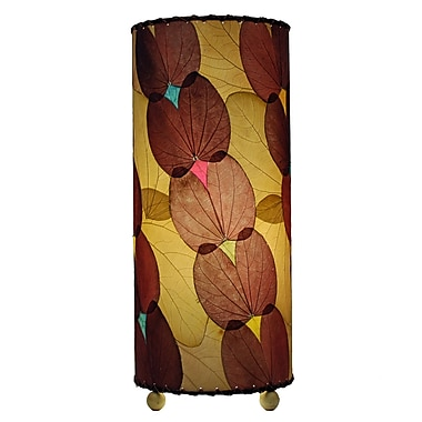 Eangee Home Design Butterfly Alibangbang Leaf Table Lamp -Burgundy (479-Bu)