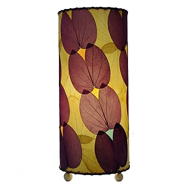 Eangee Home Design Butterfly Alibangbang Leaf Table Lamp -Purple (479-P)