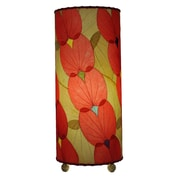 Eangee Home Design Butterfly Alibangbang Leaf Table Lamp -Red (479-R)