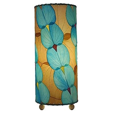 Eangee Home Design Butterfly Alibangbang Leaf Table Lamp -Blue (479-Sb)