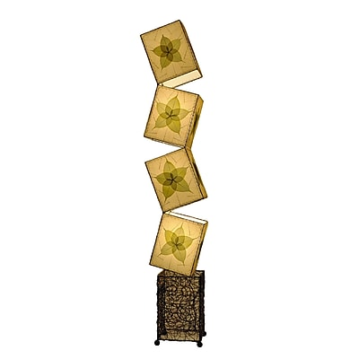 Eangee Home Design Giant Cube Table Lamp -Green (622-Xl-G)