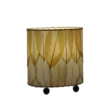 Eangee Home Design Mini Guyabano Leaf Table Lamp -Natural (531-N)