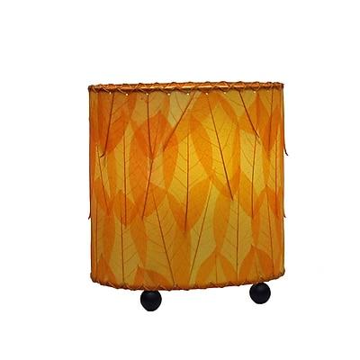 Eangee Home Design Mini Guyabano Leaf Table Lamp -Orange (531-O)