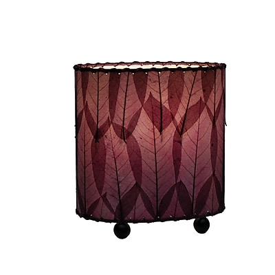 Eangee Home Design Mini Guyabano Leaf Table Lamp -Purple (531-P)