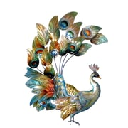 Eangee Home Design Peacock Wall Decor, Multicolored (M714124)