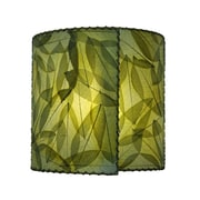 Eangee Home Design Wrapped Green Wall Sconce -Green (523-G)