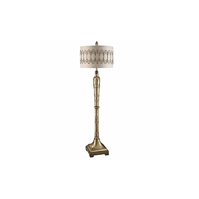 Aurora Lighting 1-Light Incandescent Floor Lamp - Toasted Silver (STL-CST085488)